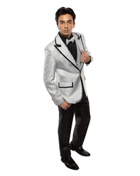 Johnny B- Vice Platinum/Black black tie formal, Young Mens formal, Wedding, Prom, Winter Formal