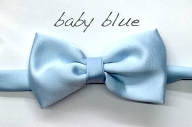 Baby blue Satin bow