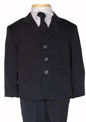Jack Navy Pin Stripe ringbearer, tuxedos, black tie, mens wearhouse