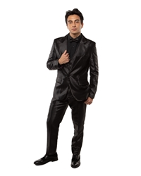 Johnny B- Black boys suit, boys tuxedo, ring bearer, flower girl, black tie formal, usher, cute ring bearer, ring security , boys formalwear