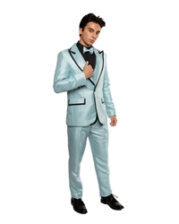 Johnny B- Sky Blue black tie formal, Young Mens formal, Wedding, Prom, Winter Formal