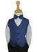 Navy vest and tie - 4001-NVY-SM