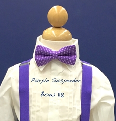 Purple suspender #118