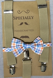 Sand suspender - Orange bow